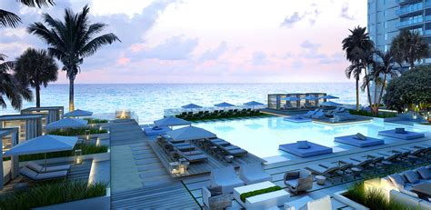 Florida Home Interiors by Luxury Condos In Miami Pool