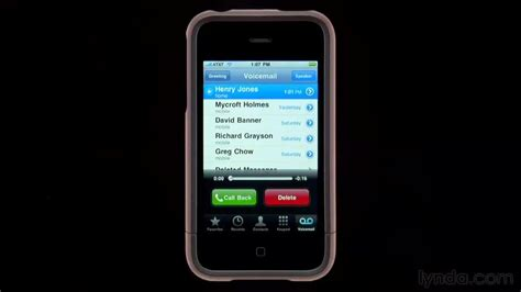 Never Listen To Another Voicemail Again With Spin My Vmail by Accessing Voicemail From The Course Iphone And Ipod Touch
