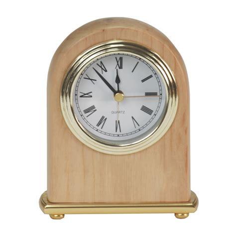 alder arch engraved desk clock