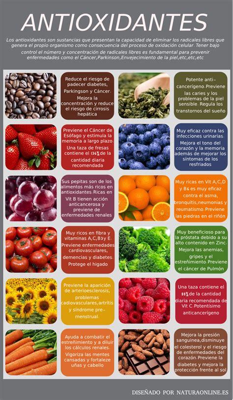 alimentos antioxidantes 12 alimentos ricos en antioxidantes para combatir con la