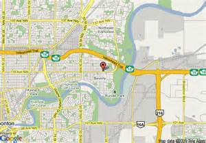 map of edmonton canada edmonton canada map
