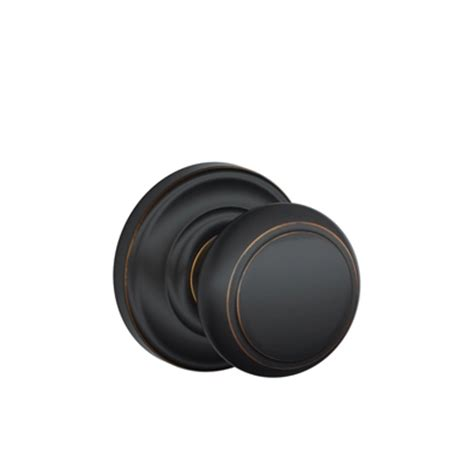 schlage andover knob with andover decorative low