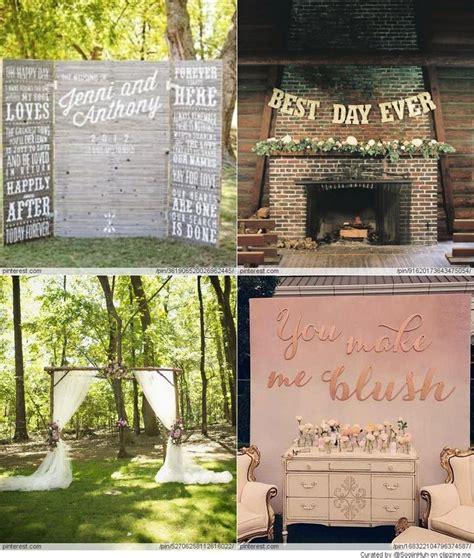Wedding Backdrop Ideas Diy by Wedding Backdrop Diy Ideas Wedding Ideas