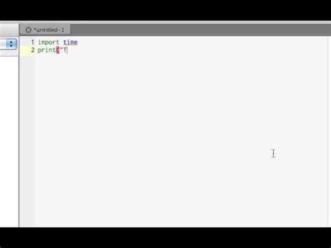 python tutorial time python tutorial 2 time functions youtube