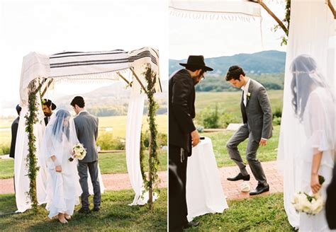 Home Decor Goods by Outdoor Jewish Wedding Chuppah Once Wed