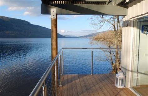 Luxury Lochside Cottages Scotland by Osprey Luxury House For 2 On Loch Tay In Highland Perthshire Scotland