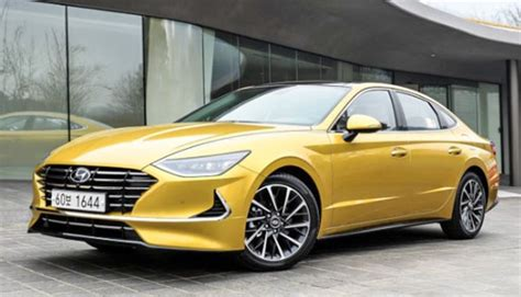 2020 Hyundai Sonata Yellow by Burlappcar 2020 Hyundai Sonata In Yellow