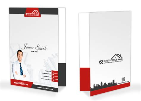 Real Estate Folders Real Estate Agent Folders Realtor Folders Custom Office Templates Folder 2016