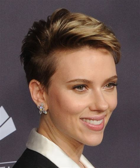 why scarlett johansson cut hair pixie haircuts and hairstyles scarlett johansson pixie