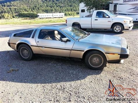 delorean with a flux capacitor for sale 1981 delorean with flux capacitor