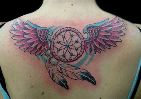 Tattoo Dreamcatcher Wings   28 artistic dreamcatcher tattoo designs creativefan