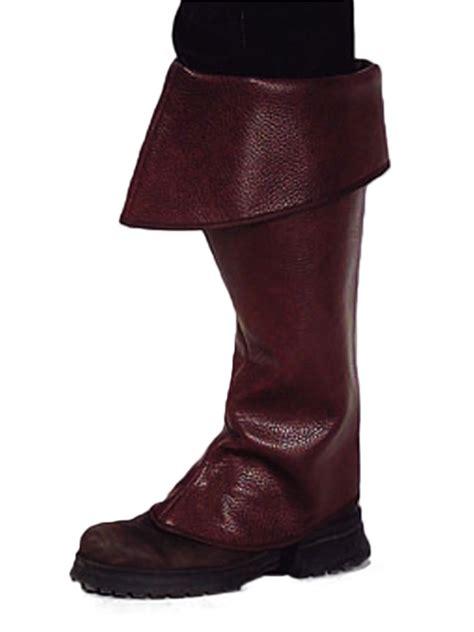 boot tops premium pirate brown boot covers 202309 fancy dress