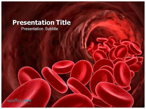 blood powerpoint template ppt template powerpoint templates