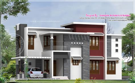 home design square contemporary house design kerala