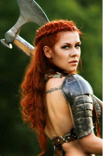 warrior woman braided hairstyle  looove   color