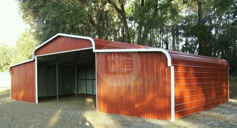 prefab metal barns barn regular roof style enclosed barn building