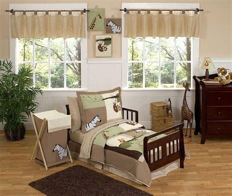 safari toddler bed jungle adventure animal safari toddler bedding 5pc set only 99 99