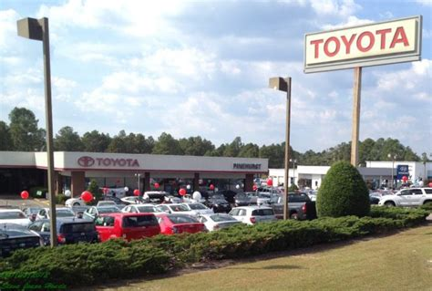Toyota Dealers In Nc Pinehurst Toyota Car Dealers 10760 S Us Hwy 15 501