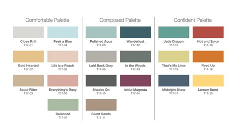 trending color palettes behr 2017 color trends see every gorgeous paint color