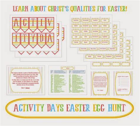 day activity ideas activity day ideas activity days easter egg hunt