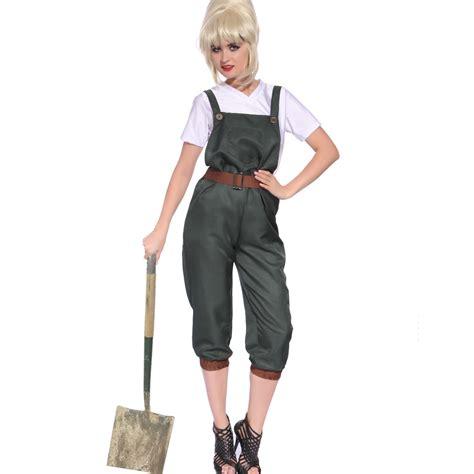 world war 2 outfits ww2 1940s land girl costume world war 2 wartime uniform