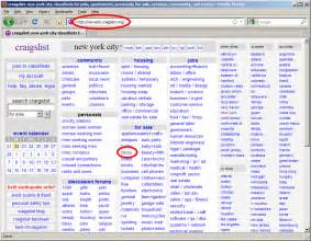 Craigslist Org Get Craigslist And Ebay Notifications On Your Desktop With