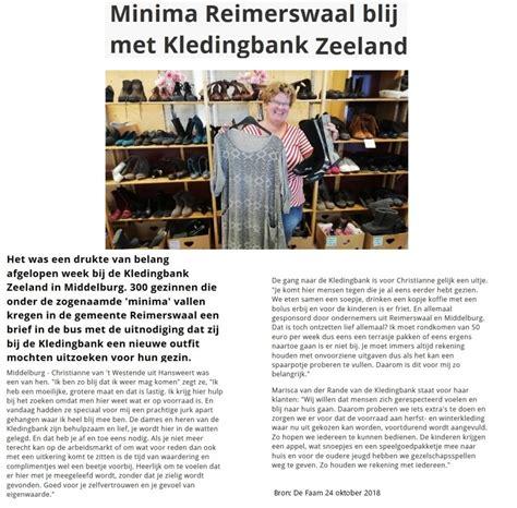 speelgoed middelburg nieuws kledingbank zeeland gratis kleding en speelgoed