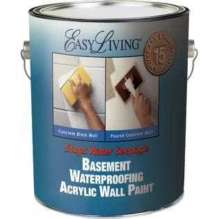 basement wall waterproofing paint easy living basement waterproofing paint