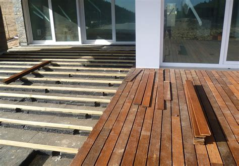 how to to lay how to install ipe decking