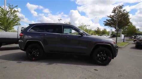 2014 Jeep Grand Cherokee Altitude Gray Ec479401