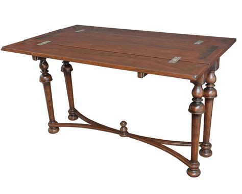 retractable table folding console table
