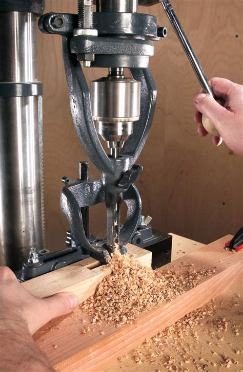 best woodworking drill press how to do mortising on a drill press diy mortising guide