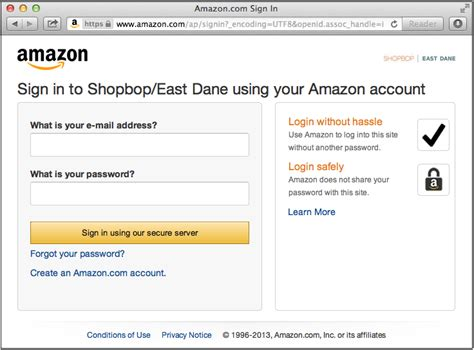 amazon login login with amazon conceptual overview login with amazon
