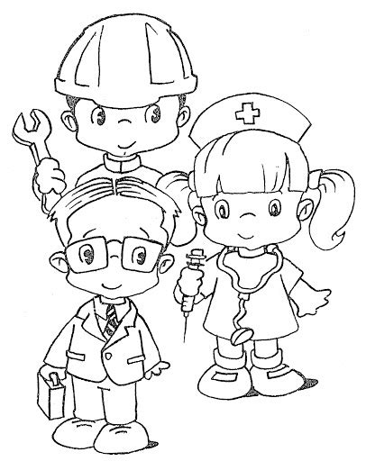 Career Day Coloring Pages Coloring Pages March 2011 by Career Day Coloring Pages