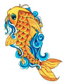 koi fish color by your poison on deviantart