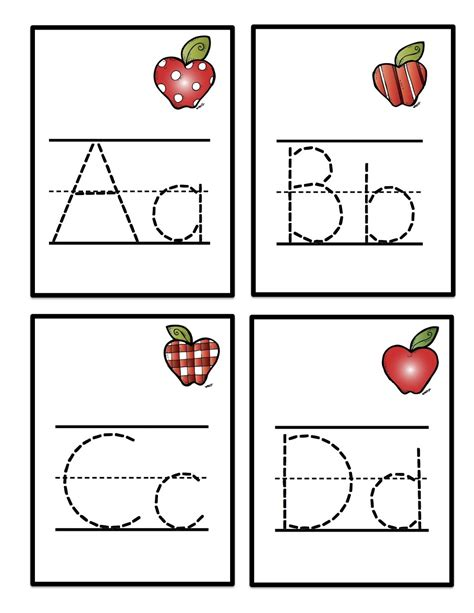 printable letter cards for tracing kids worksheet abc tracing to learn writing loving printable
