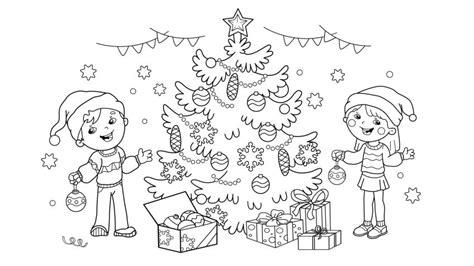 imagenes navideñas para colorear y decorar dibujos navide 241 os para pintar o colorear hogarmania