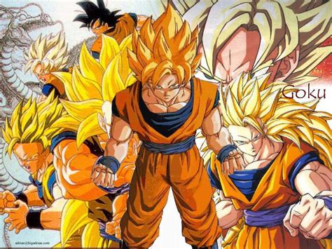 imagenes de goku todas las faces goku fases auto design tech