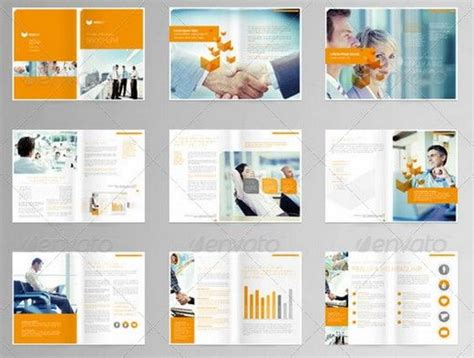 multi page booklet template modern brochure layout search art217 brochure