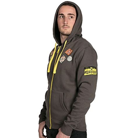 Zipper Hoodie Overwatch Brothersapparel 2 jinx overwatch ultimate roadhog zip up hoodie overwatch merchant