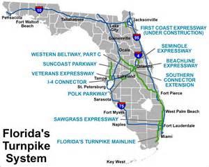 toll roads florida map fdot roadway design office drainage