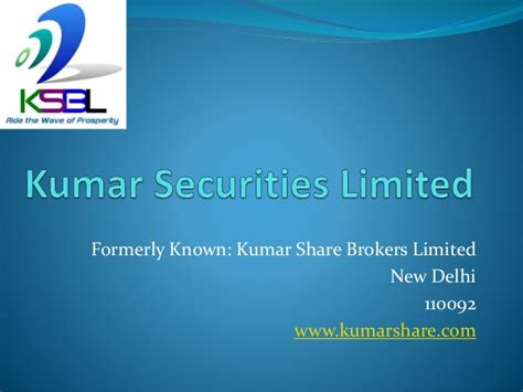kumar brokers limited