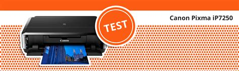 Drucker Toner Entsorgen by Drucker Test Canon Pixma Ip7250