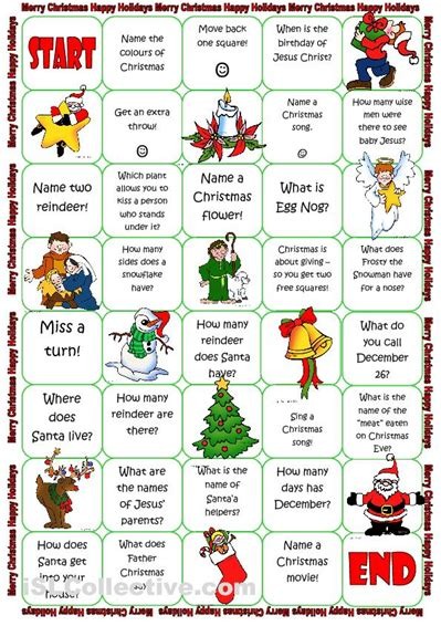 printable board games christmas 8 best images of adult board games printable games harry