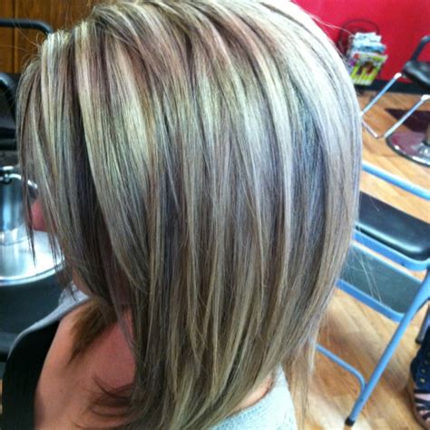 Gray Hair Lowlights Ideas | low lights lights and hair on pinterest