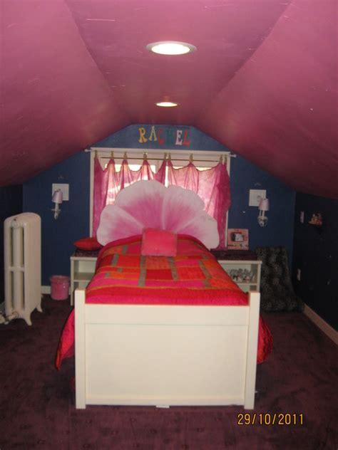 girls attic bedroom ideas girls attic bedroom eclectic bedroom other metro