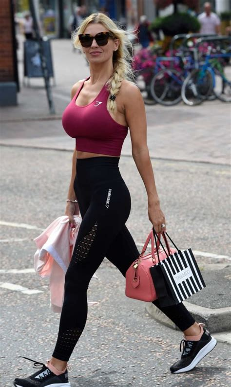 christine mcguinness visits tanya bardsley�s boutique in