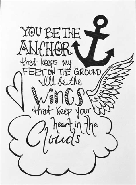 You-be-the-anchor-that-keeps-my-feet-on-the-ground | Tumblr