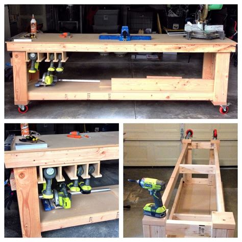 l shaped work bench diy garage l shaped workbench great home design