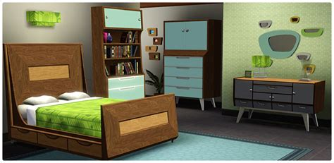 bedroom sims 3 mid century modern bedroom collection store the sims 3